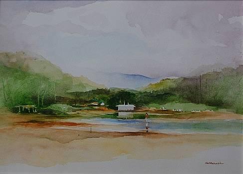 Summer River by Prakash Sree S N