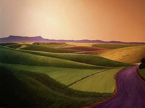 Summer Road by Leonard Heid
