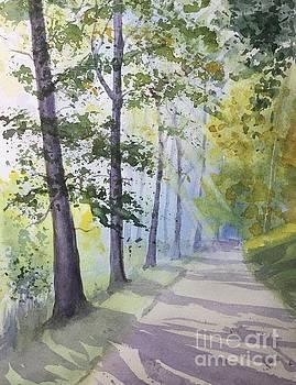 Summer Road by Yohana Knobloch