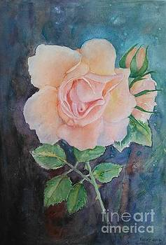 Summer Rose - painting by Veronica Rickard