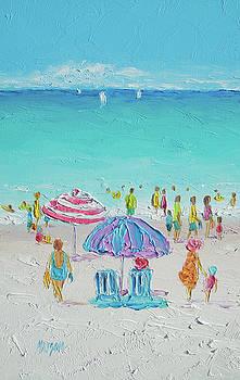 Jan Matson - Summer Scene diptych 1