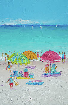 Jan Matson - Summer Scene diptych 2