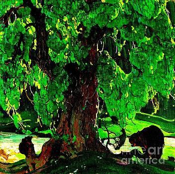 Peter Gumaer Ogden - Summer Silhouette 1922
