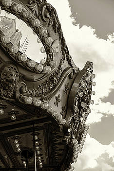 Summer Skies and Carousel by Lesley Spanos