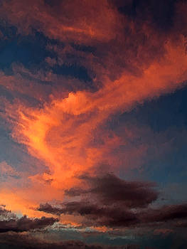 Summer Sky 1 by Richard W Cleveland