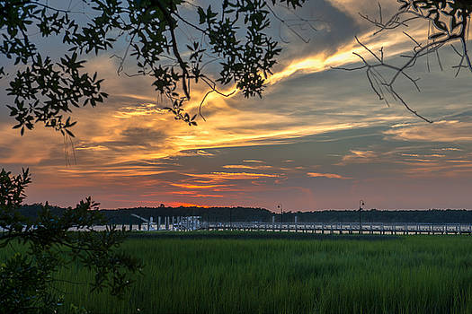 Dale Powell - Summer Sky over the Wando River