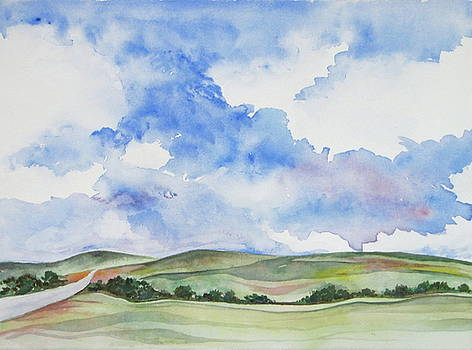 Summer Sky by Renee Goularte