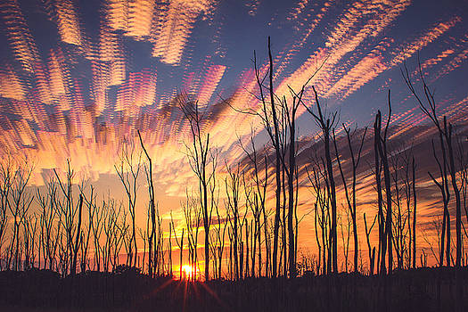 Summer Solstice Sunset Stack by Jackie Novak