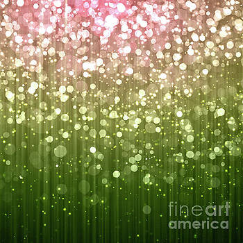Tina Lavoie - Summer Sparkles Pink and Green Spangles