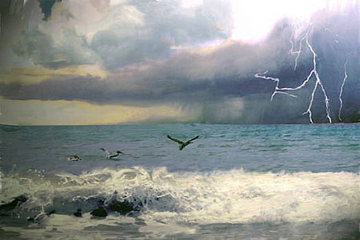 Summer Storm  by Richard Nickson