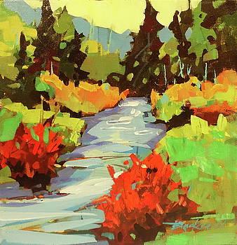 Summer Stream  by Brian Buckrell