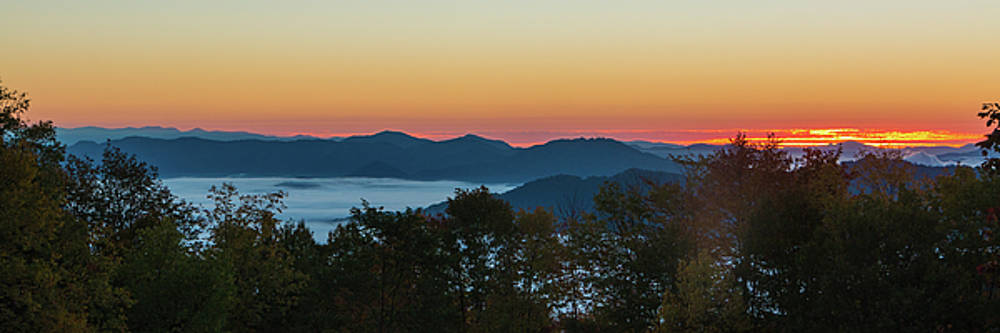 Summer Sunrise - Almost Dawn by D K Wall