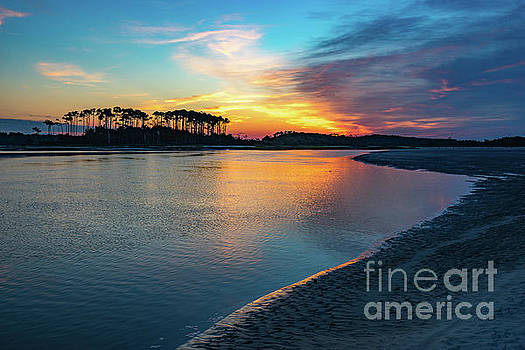 Summer Sunrise at the Inlet by David Smith