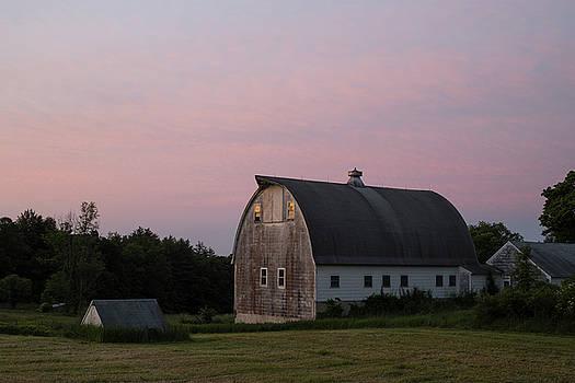 Summer Sunrise, Lyndeborough by Morgain Bailey