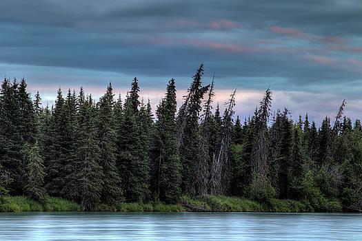 Gloria Anderson - Summer sunset in Alaska