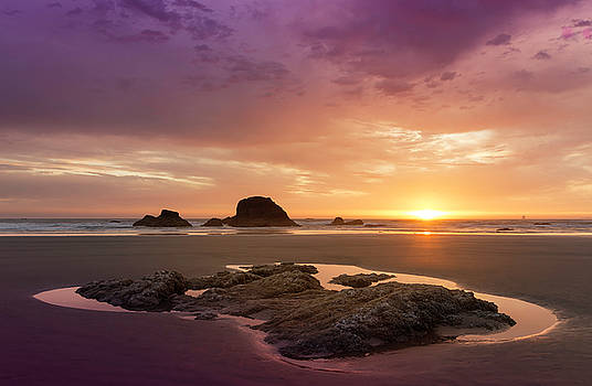 Summer Sunset by Jon Ares