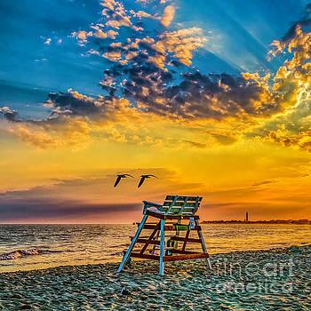 Nick Zelinsky - Summer Sunset on the Beach