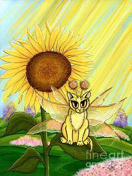 Summer Sunshine Fairy Cat by Carrie Hawks