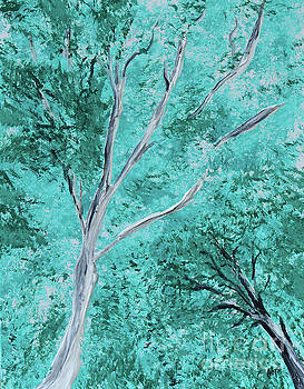 Summer Trees by Alys Caviness-Gober