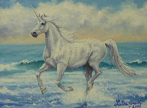 Summer Unicorn by Louise Green