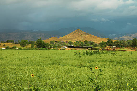 Summer View of  Hay Stack Mountain by James BO Insogna
