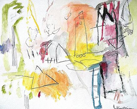 Janis Kirstein - Summer Watercolor Fantasy 3