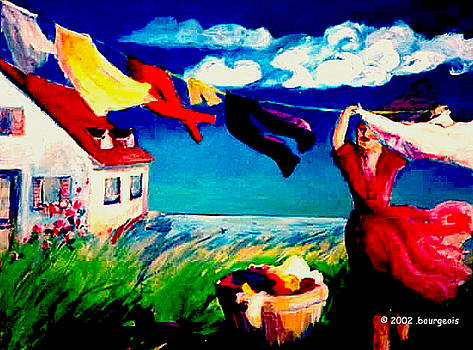 Summer Winds by Anne Marie Bourgeois