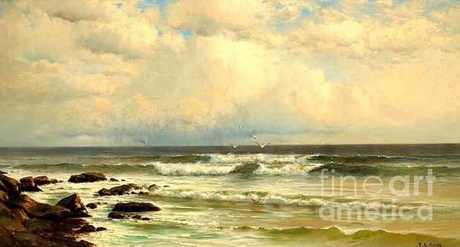 Peter Gumaer Ogden - Summer Winds Long Branch Beach New Jersey 1883