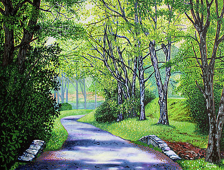 Summer's Languid Path by Jerry Kirk