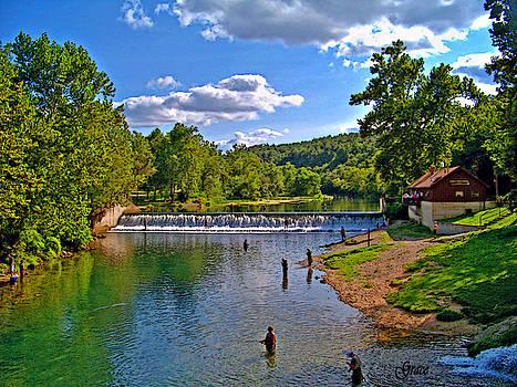 Summertime at Bennett Springs by Julie Grace