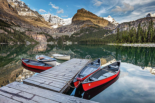 Summertime in the Canadian Rockies by Pierre Leclerc Photography
