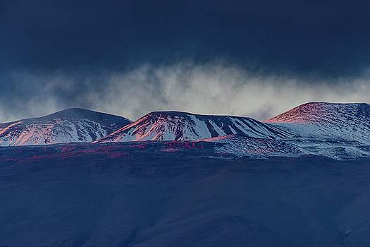 Don Mitchell - Summit cones, sunset