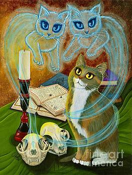 Summoning Old Friends - Ghost Cats Magic by Carrie Hawks