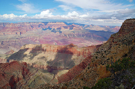 Reimar Gaertner - Sun and clouds over the Grand Canyon at Moran Point