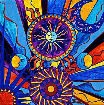 Sun and Moon by Teal Eye Print Store
