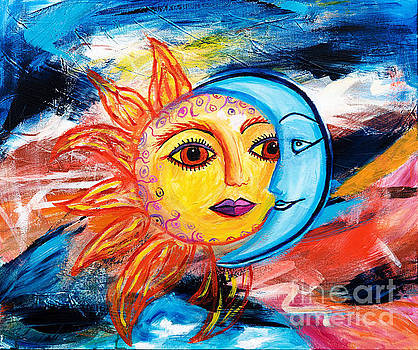 Sun and Moon United by Art by Danielle