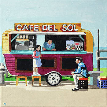 Sun Coffee by Melinda Patrick