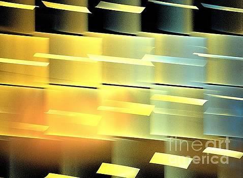 Sun Copper Cubes by Kim Sy Ok