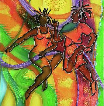Sun dancers by Fred Odle