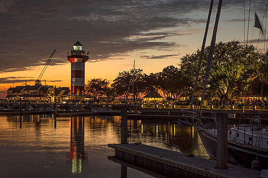 Sun Down at Harbour Town by Steve Hammer
