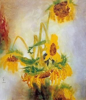 Sun Flowers No.2 by Minxiao Liu