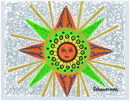 Sun Goddess by Susan Schanerman