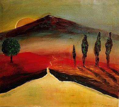 Sun Going Down by Edward Longo