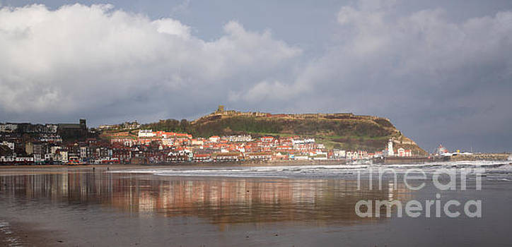 Sun is shining on Scarborough by Deborah Benbrook