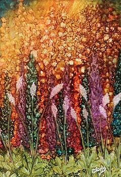 Sun-Kissed Garden by Linda Clary