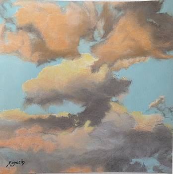Sun Kissed Sky by Harvey Rogosin