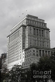Sun Life Building Montreal by John  Mitchell