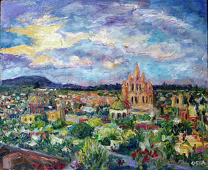 Sun Over San Miguel by Andrew Osta