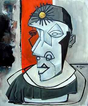Sun Ra Bust by Martel Chapman