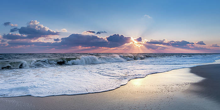 Sun Rays and Waves by John Randazzo